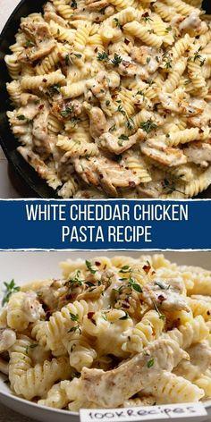 Easy Pasta Recipes, Cooking Recipes, Easy Pasta Meals, Pasta Recipes For Dinner, Pasta Ideas, Delicious Pasta Recipes, Pasta Recipies, Easy Pasta Sauce, Italian Pasta Recipes