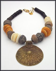 ANCIENT ARTIFACTS  Ancient African Spindle by sandrawebsterjewelry, $245.00 SOLD