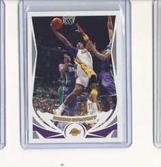 2004-05 TOPPS CHROME #8 KOBE BRYANT LA LAKERS #LosAngelesLakers