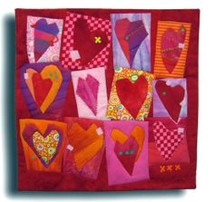 HAPPY VALENTINE'S DAY...quilt by Melody Johnson