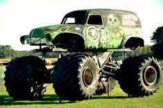 I uploaded new artwork to fineartamerica.com! - 'Monster Truck 4' - http://fineartamerica.com/featured/monster-truck-4-lanjee-chee.html