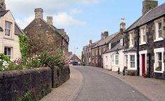 Coldingham village, Berwickshire