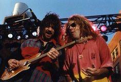 Eddie Van Halen ❤️ 😘 Sammy Hagar 1991