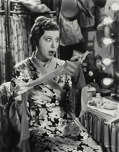 """It takes courage to be a comedienne. You can't have success as a comedienne and have romance, too. No man ever fell in love with a woman for her sense of humor."" -- Fanny Brice (Bizarre Los Angeles)"