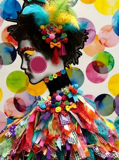 3D - Fashion - Illustration - Collage - Handmade by Marieke Vermeulen at Coroflot
