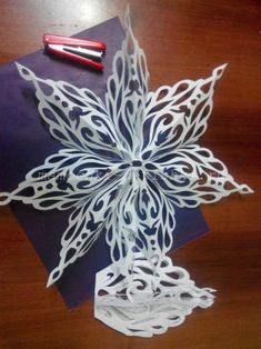 Snowflakes, Let Beautiful Paper Crafts Bring Joy to Your Family and Friends