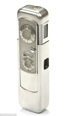 The Russian Minox camera, worth £3,200, is disguised as a radio