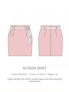 Alyson Skirt Flat