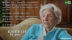 """""""Una delle spiegazioni per convincere le donne a votare la Repubblica fu: pensate, i vostri figli potrebbero diventare i capi dell'Italia"""". Alberta Levi, una de #LeRagazzeDel46 #Rai3"""