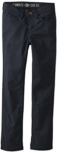 Dickies Boys' Five-Pocket Skinny Pant *** Want to know more, visit