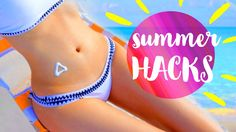 11 DIY Summer Life Hacks EVERYONE Should Know!!! including awesome DIY mosquito repellant