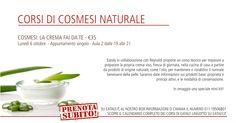 Partecipa al primo corso di cosmesi naturale presso Eataly, Torino