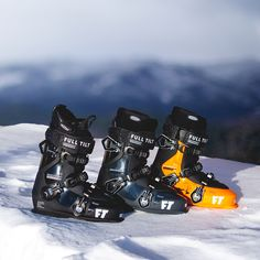 The Full Tilt Descendant series is designed in 3 different mens ski boots for, the 4, 6 and 8. Different fees and liners for custom fitting and a walk mode in for the 8. These boots are now available for 30% off in our shop outlet.