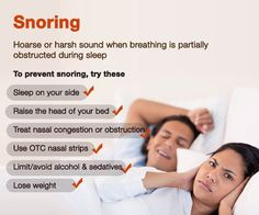 To prevent Snoring, try these...Cures, Remedies, and Tips