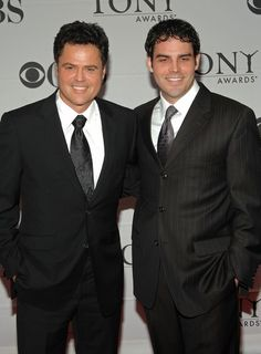 Donny with Don Jr. Call that Handsome!.Was my very first crush.Please check out my website thanks. www.photopix.co.nz