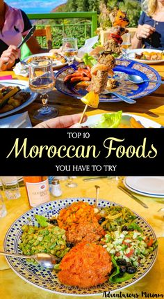 Moroccan food is so diverse and vibrant in color and flavor. The flavour combinations, aromatic spices and exotic ingredients make even the most basic dishes amazing. Here are the top 10 Moroccan foods you have to try.