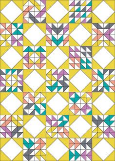 Interlaced Quilt Setting Tutorial - In Color Order