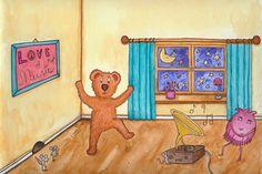 Hört euch auf der Seite www.baer-und-zwiebel.de unser Bärenlied an!