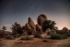 Night Photography In Joshua Tree - Outdoor Photographer