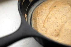 The creamiest gravy comes from a Cast Iron Skillet! This recipe's from the Homesick Texan.