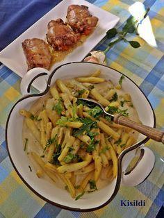 Pasta Salad, Cabbage, Meat, Chicken, Vegetables, Ethnic Recipes, Food, Crab Pasta Salad, Essen