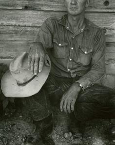 Dorothea Lange - 'Jake Jones' Hands, Gunlock, Utah', 1953
