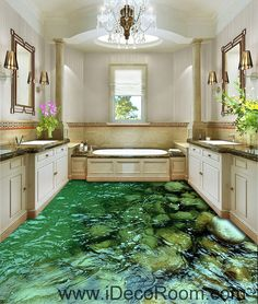 Gentle Bathroom 3d Wallpaper Floor 3d Wall Murals Wallpaper Floor Floor Wallpaper 3d For Bathrooms Dolphin Home Decoration Home Improvement Painting Supplies & Wall Treatments