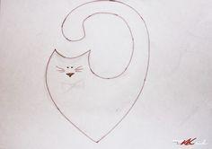 """По пошиву сердешных котиков """"Ты мой, а я твоя!"""" - Ярмарка Мастеров - ручная работа, handmade"""
