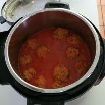 Pressure Cooker Meatball Recipe