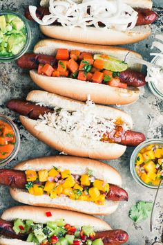 Tropical Hot Dog Bar