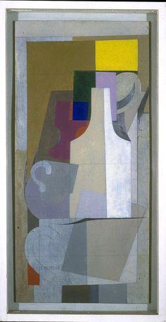 """"""" Ben Nicholson British artist, sculptor Still Life, 1945 """" Abstract Images, Abstract Art, Art Walk, Abstract Painters, Still Life Art, Modern Artists, Painting Inspiration, Art Museum, Sculpture Art"""