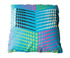 Cuscino arredo in cotone Fantasy, 30x10x30 cm