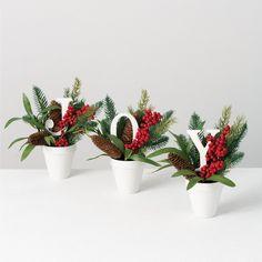 Christmas Projects, Christmas Fun, Christmas Crafts, Christmas Vases, Easy Diy Christmas Gifts, Christmas Flowers, All Things Christmas, White Christmas, Christmas Wreaths