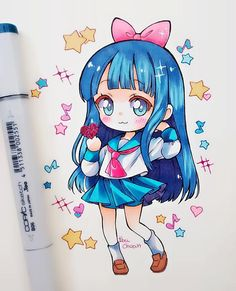 Marvelous Learn To Draw Manga Ideas. Exquisite Learn To Draw Manga Ideas. Kawaii Anime, Gifs Kawaii, Art Kawaii, Cute Anime Chibi, Kawaii Chibi, Art Anime, Anime Kunst, Anime Art Girl, Manga Anime