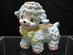 Relpo Samson Import 1961 431S Chicago IL Japan Big Eyes Lamb Planter Boy or Girl $14.99