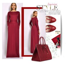 """""""DesirVale"""" by selmir ❤ liked on Polyvore featuring Gucci, Mansur Gavriel, Elizabeth Arden, StreetStyle, chic and dress"""