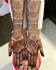 New and Trendy Bridal Mehndi designs