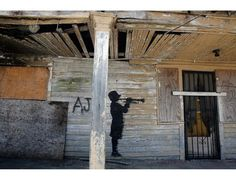 Banksy hitting New Orleans | Trendland: Fashion Blog & Trend Magazine
