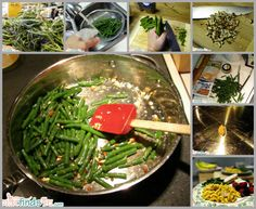 Quick and easy fresh green beans recipe - So good. Delicious. However many you put on your plate, stop and reconsider before you sit down. Then double it. Trust me, you'll eat them all.