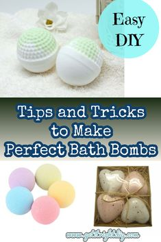 Making bath bombs can be full of fun and very frustrating at times. If you are a serious learner, as you learn more in making homemade bath bombs, you'll certainly get a feel for how bath bombs are supposed to look at each stage of the process, and . Diy Bath Bombs Easy, Best Bath Bombs, Homemade Bath Bombs, Bath Bomb Recipes, Soap Recipes, Easy Crafts, Easy Diy, Homemade Beauty Products, Diy Craft Projects