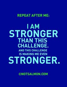 i am stronger!