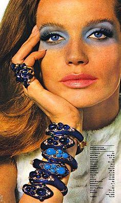 1969…Yardley blue eyeshadow…..