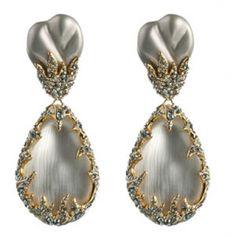 Gem Clip Earrings by Alexis Bittar