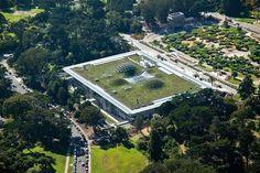 Renzo Piano | California Academy of Sciences (San Francisco, U.S.A., 2000-2008) | Fonte: www.rpbw.com