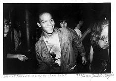 Nicholas Taylor Photograph - Jean-Michel Basquiat Dancing At The Mudd Club (Basquiat Boom Real) 1979 Pop Art