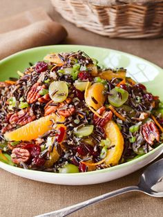 Wild Rice Salad...recipe by ina garten from her book Barefoot Contessa How Easy is That?