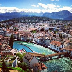Lucerne, Switzerland -- Can't believe I actually lived there!