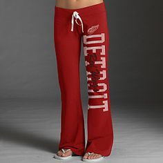 NEED!!!!!  '47 Brand Detroit Red Wings Women's Pep Rally Pants - Shop.NHL.com