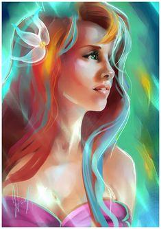 Ariel by elenyan on DeviantArt