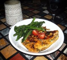 Fish Fillets with Broccolini